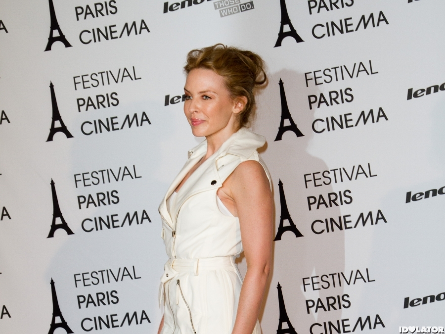 Kylie Minogue Looks Wonderful In White