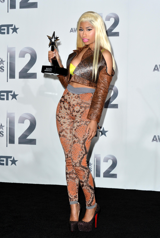 Nicki Minaj Wins Big at Bet