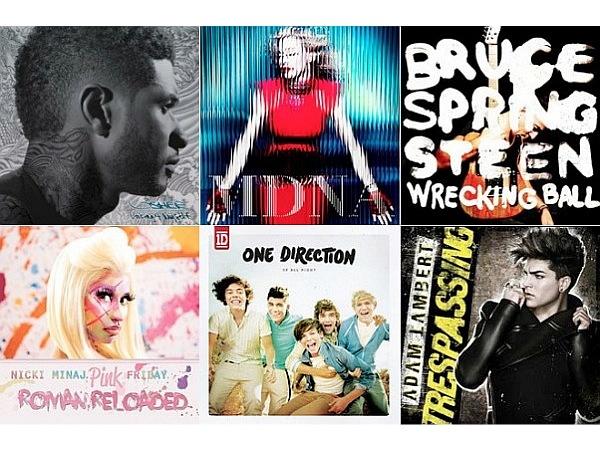 2012: #1 Albums (So Far)