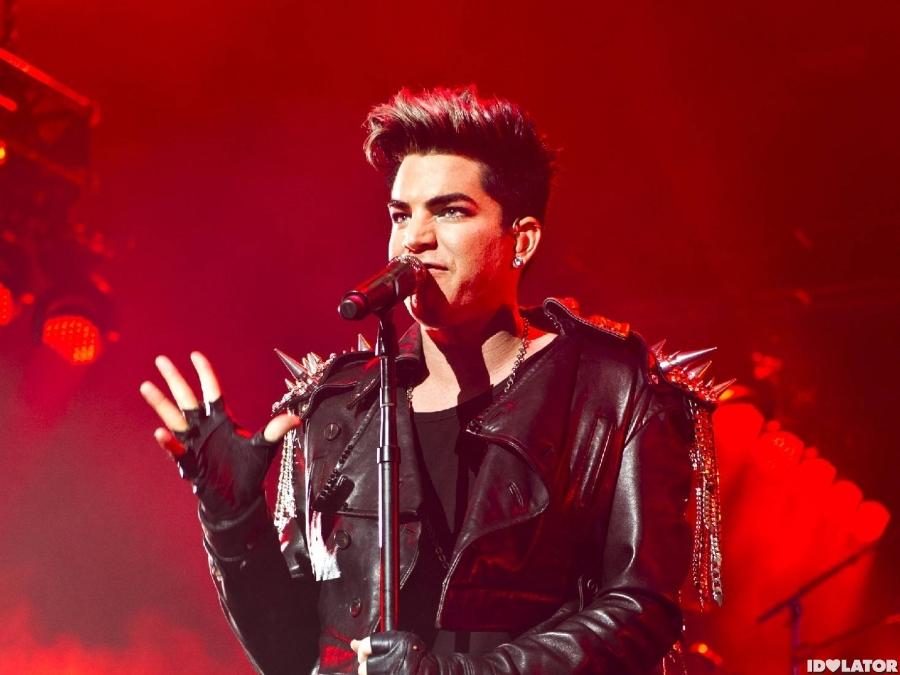 Adam Lambert And Queen Rock London