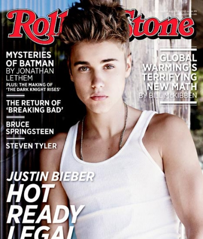 Justin Bieber Rolling Stone Cover 2012