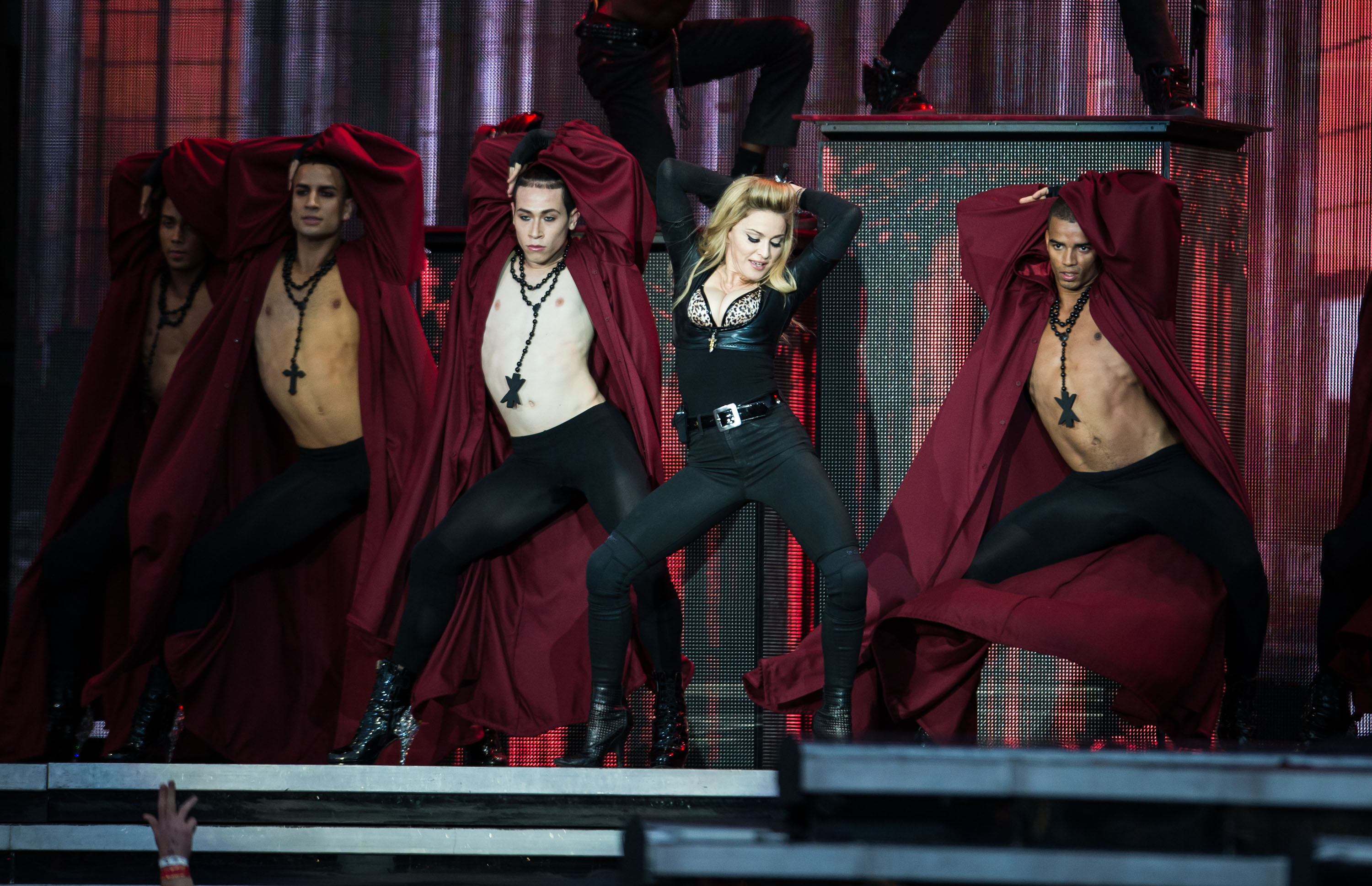 Madonna Brings MDNA To Hyde Park