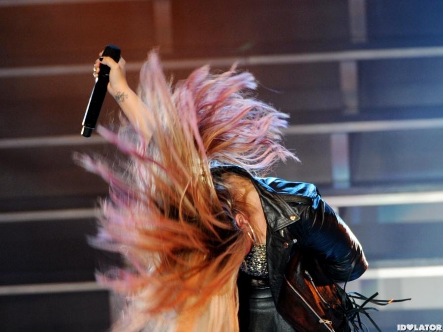 Demi Lovato Rocks L.A.