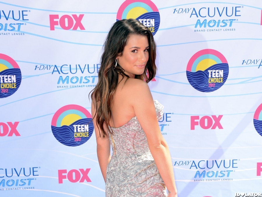 Lea Michele At The 2012 Teen Choice Awards