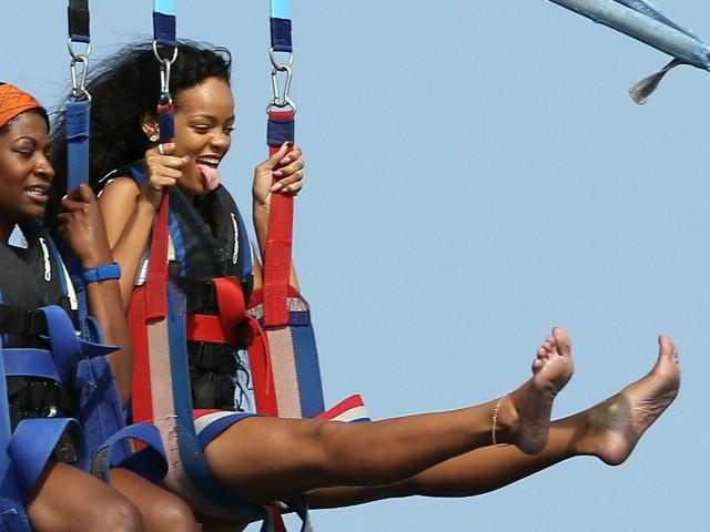 RiRi Soars High Over Cannes