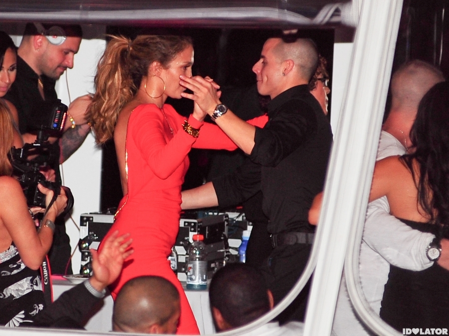 J.Lo Lives It Up At Her Surprise 43rd Bday Party