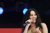 London Olympics 2012: Eliza Doolittle Performs In A Bra