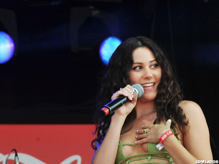 Eliza Doolittle Performs At London 2012 Olympic Torch Relay Concert