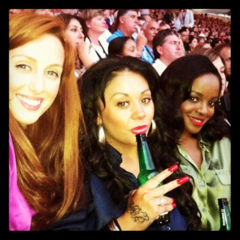 MKS Mutya Keisha Siobhan Olympics July 2012 London
