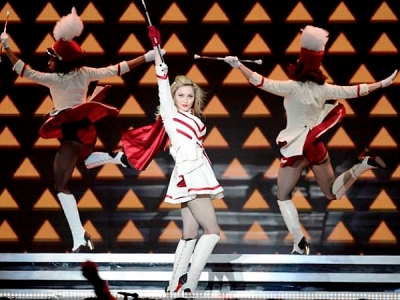 Madonna MDNA Tour cheerleader costume