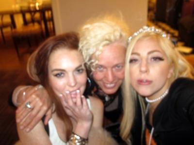 Lindsay Lohan Lady Gaga