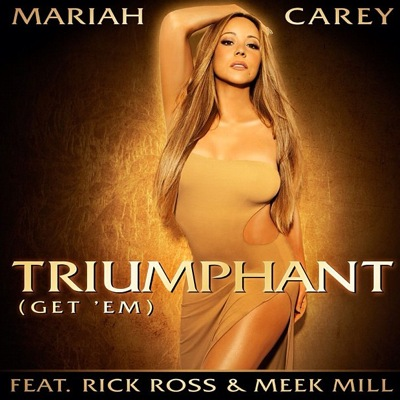 Mariah Carey Triumphant (Get 'Em) single cover art