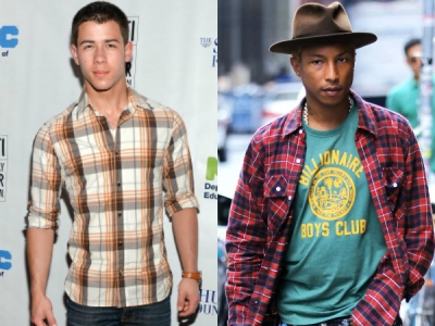 nick jonas pharrell williams