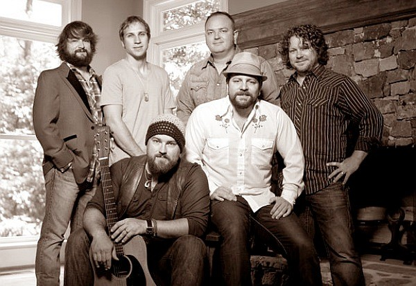 Zac Brown Band black and white