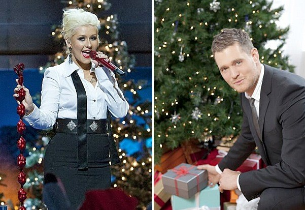 Christina Aguilera Michael Buble A Very Special Christmas