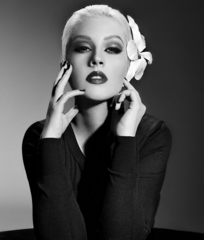 christina aguilera 2012 promo shot