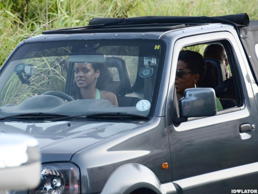 Rihanna Shows Oprah Barbados