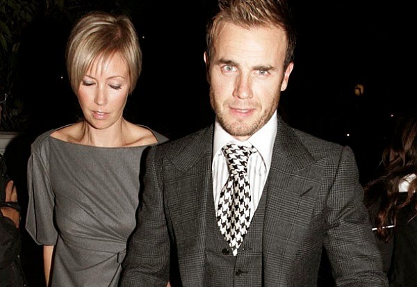 Gary Barlow wife Dawn walking