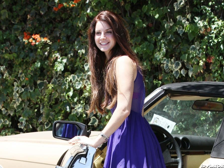 Lana Is Perfect In Purple