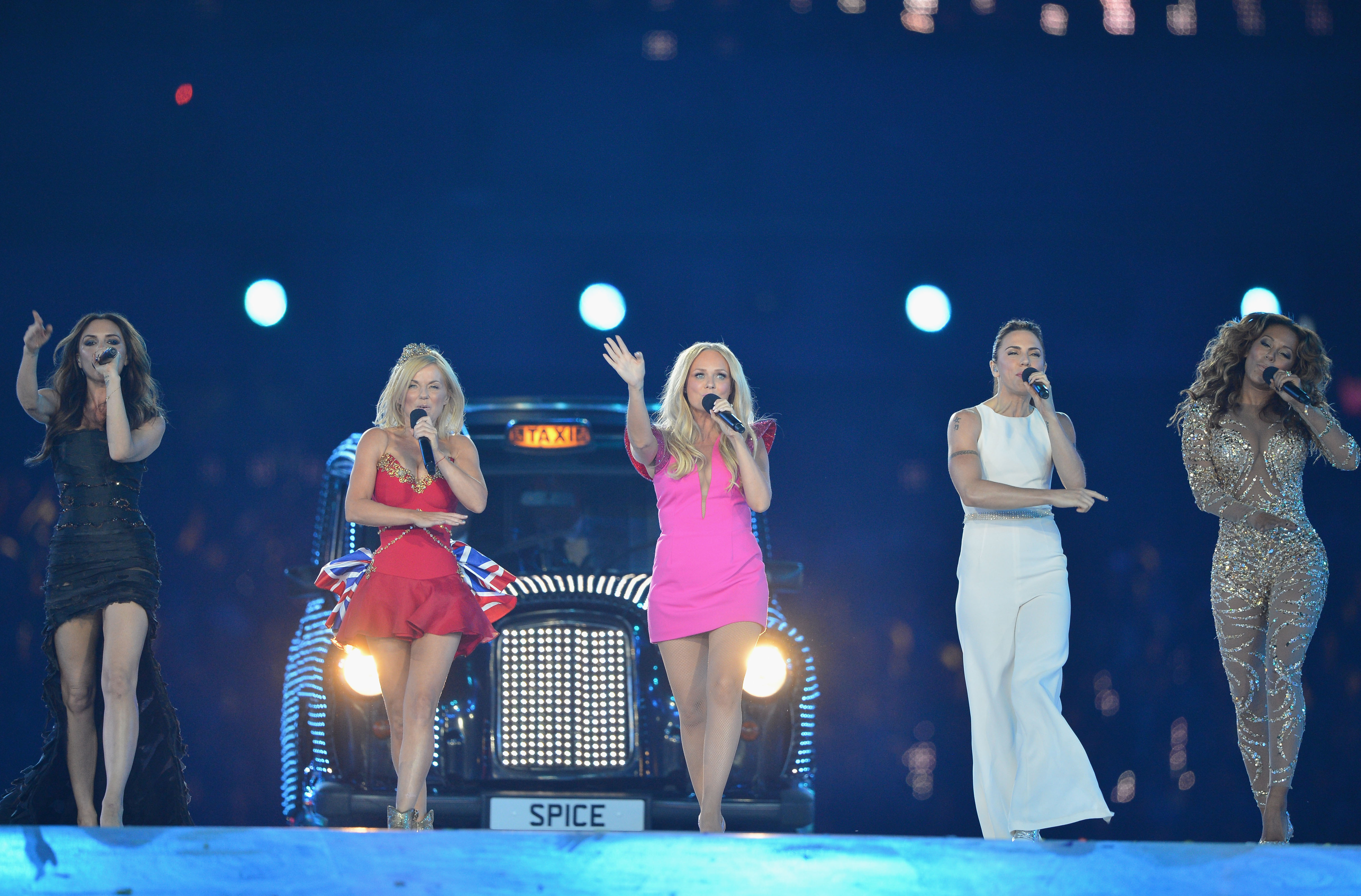 The Spice Girls Spice Up The Closing Ceremony