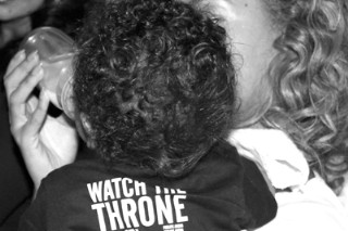 Beyonce Shares New Photo of Blue Ivy Wearing A Watch The Throne Shirt