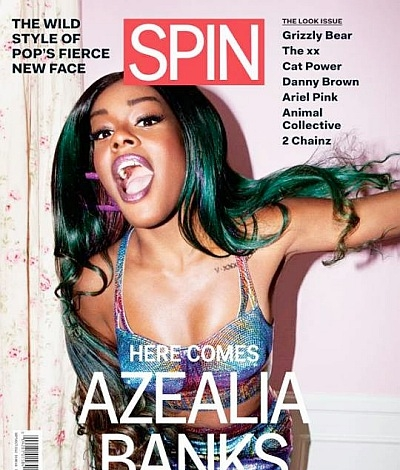 Azealia Banks Spin 2012 cover
