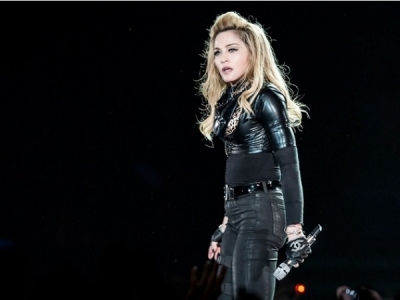 Madonna 2012: Paris Says Boo