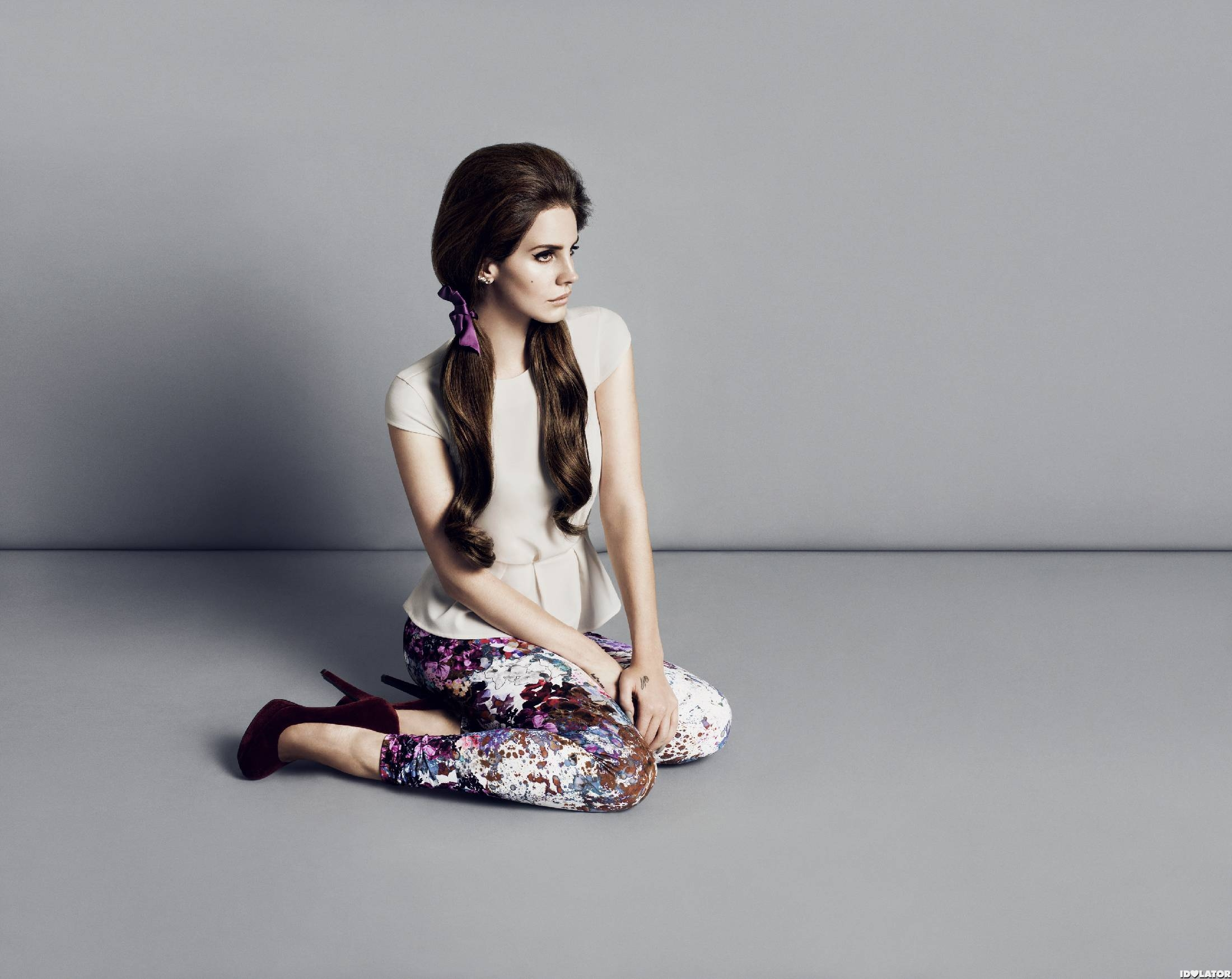Lana Del Rey Models For H&M