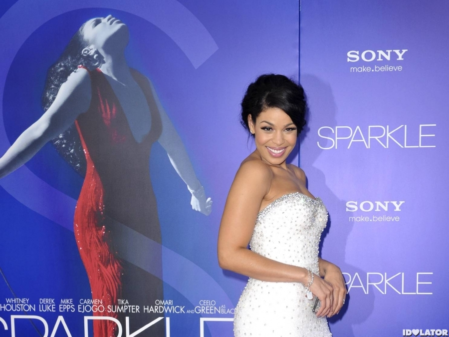 Jordin Sparks Shines At 'Sparkle' Premiere