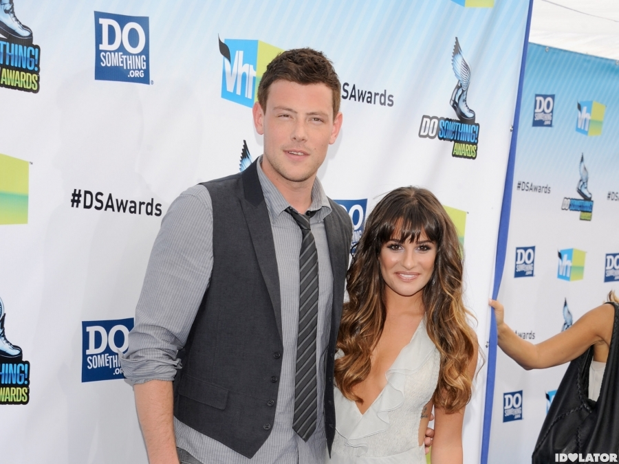 Cory Monteith And Lea Michele Attend The 2012 Do Something Awards