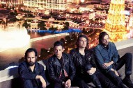 """The Killers Cover Oasis' """"Don't Look Back In Anger"""" At The UK's V Festival"""