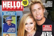 Avril Lavigne Shows Off Gigantic Engagement Ring On Cover Of 'Hello'
