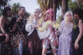 "Grimes' ""Genesis"" Video: Is That Britney Spears' Snake?"