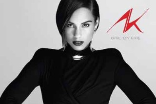 Alicia Keys' 'Girl On Fire' Album Cover Is Classy And Classic