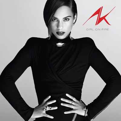 Alicia Keys Girl On Fire album cover