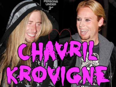 Avril Lavigne Chad Kroeger Chavril Krovigne