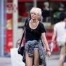Miley Cyrus short hair new york city