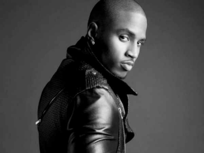 Trey Songz black and white 2012