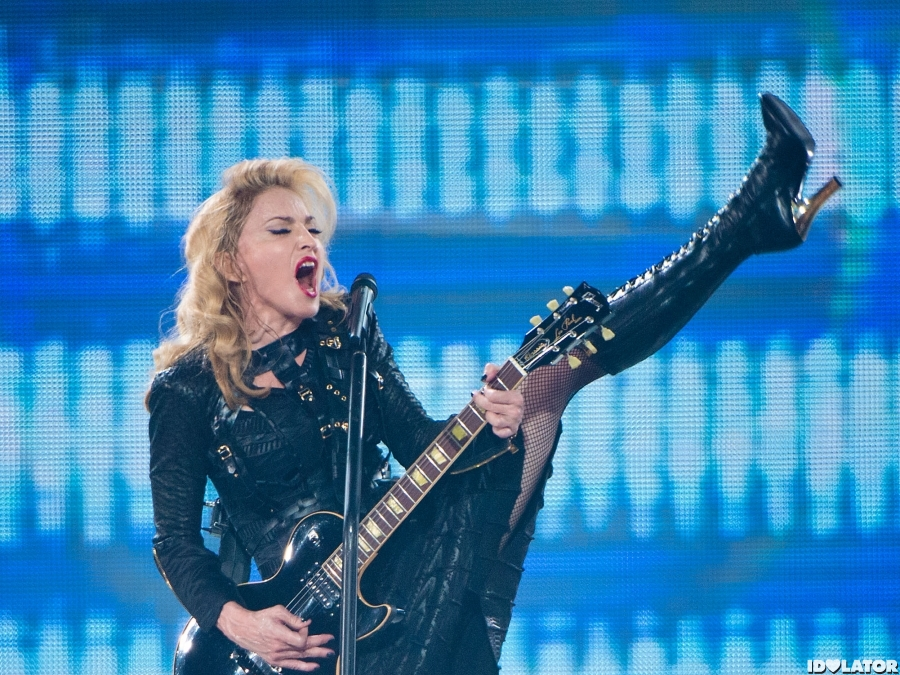Madonna Kicks Off Her MDNA North American Tour