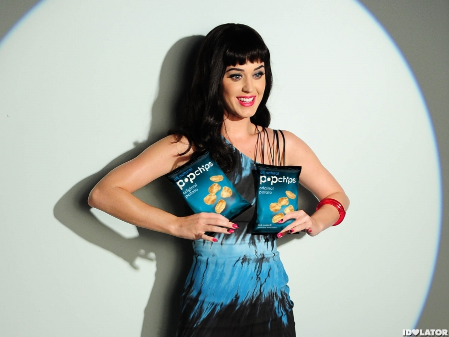 Katy Perry Poses For Popchips