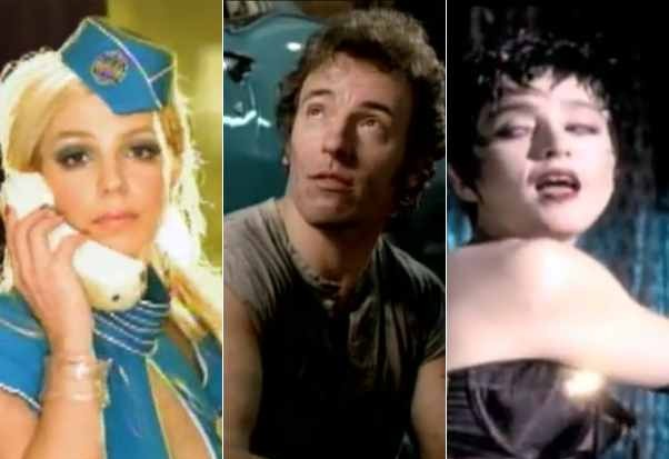 Britney Spears Toxic Bruce Springsteen I'm On Fire Madonna Open Your Heart