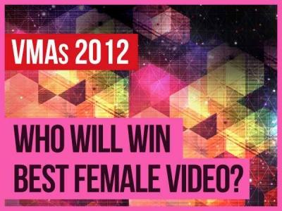 MTV Video Music Awards VMAs Best Female Video 2012