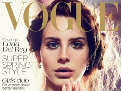 Lana Del Rey Pouts For 'Vogue Australia'