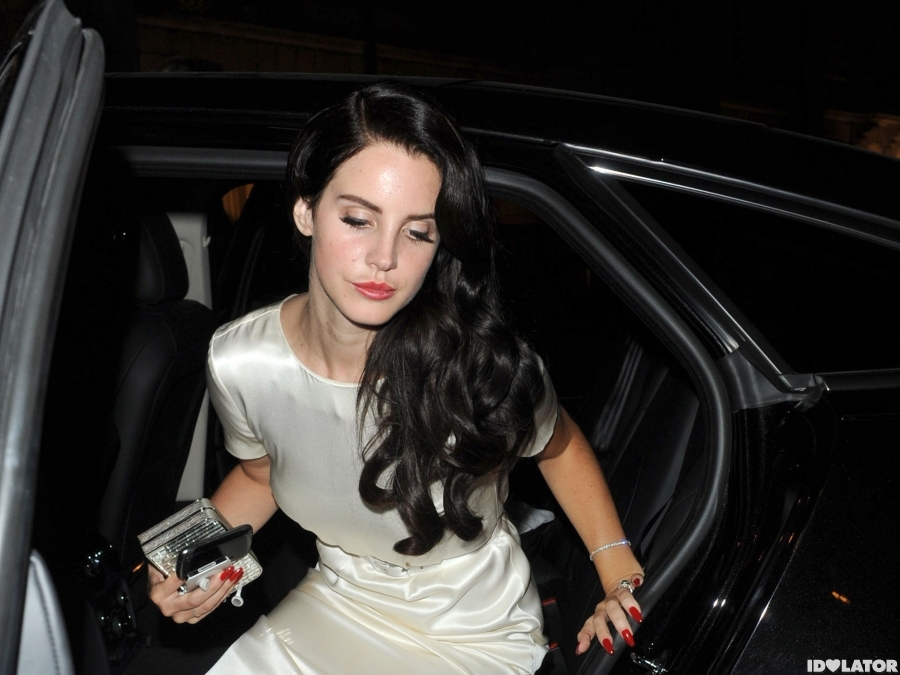 Lana Del Rey Attends GQ Men Of The Year Awards