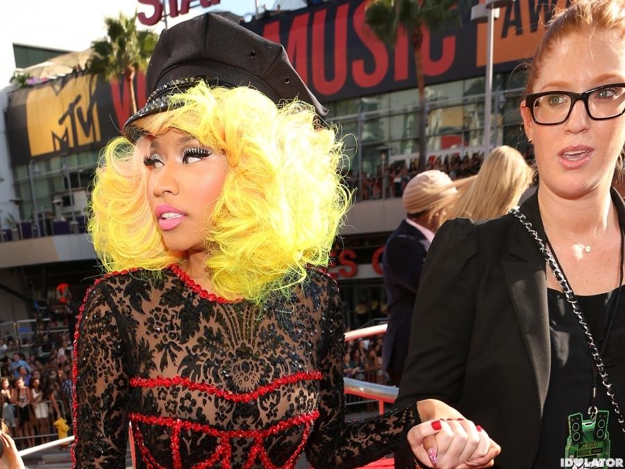 NIcki Minaj Arrives At 2012 MTV VMAs