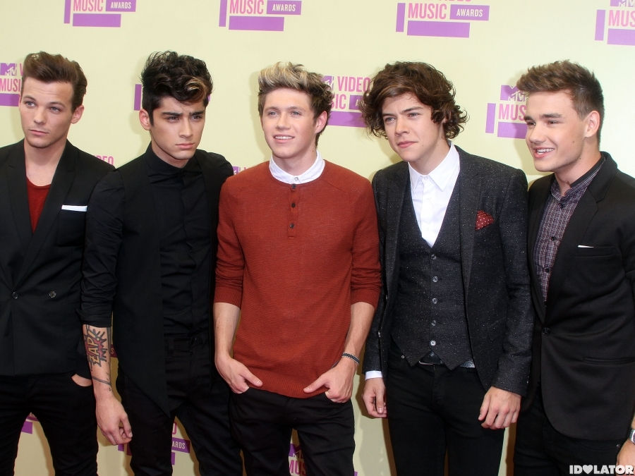 2012 MTV Video Music Awards: One Direction