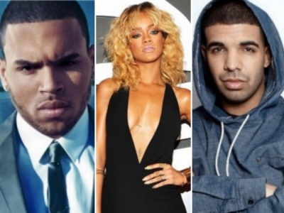 chris brown drake rihanna