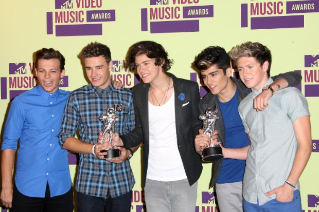 one direction vmas