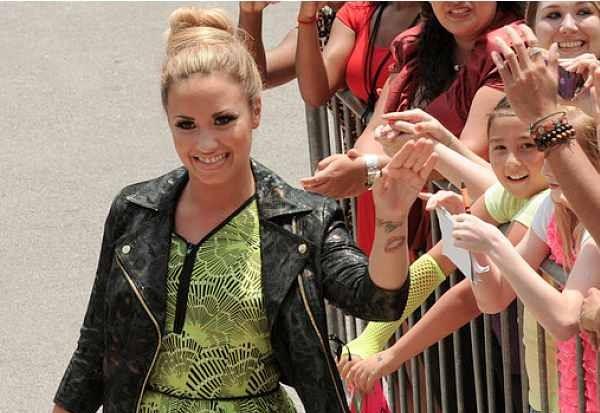 Demi Lovato The X Factor 2012 Season 2