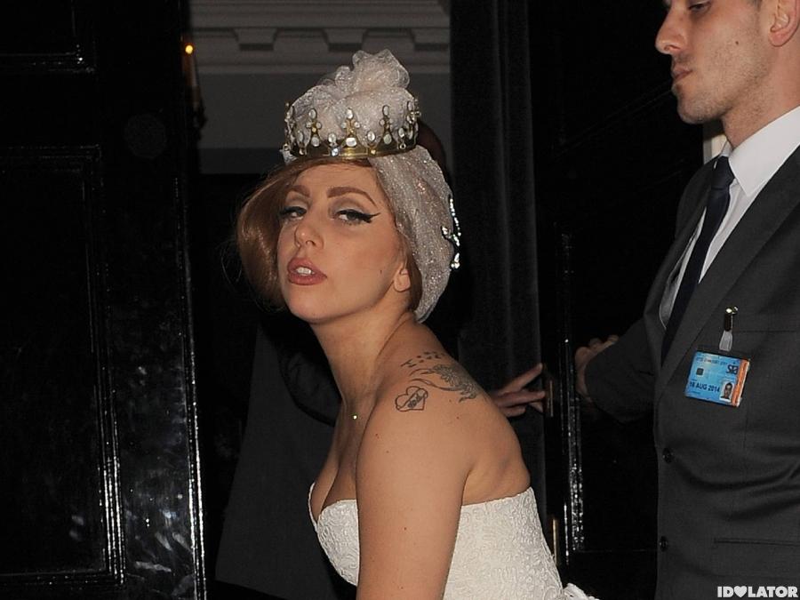 Lady Gaga Arrives At The Arts Club